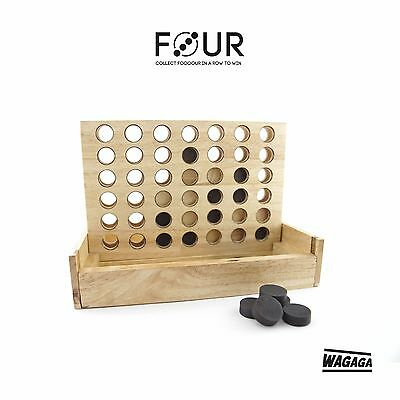 """Four"" by Wagaga , Connect 4 dots in a row to win"