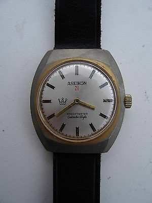 Ancienne montre homme ASEIKON 21 Colombo Style – old watch