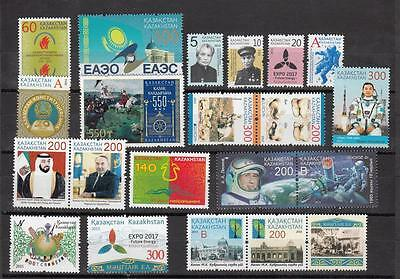 Kazakhstan Kasachstan 2015 MNH** Mi. Complete Year Set Issued 2015 2 Scan