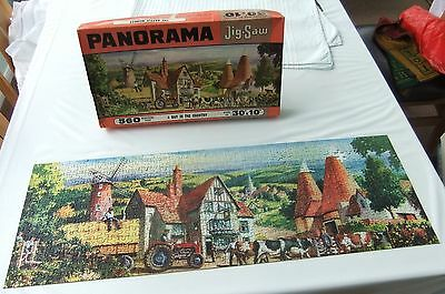 Vintage Tower Press Jigsaw - A Day In The Country - One Piece Missing