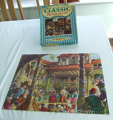 Vintage Tower Press Jigsaw - An Old Time Playhouse - Complete