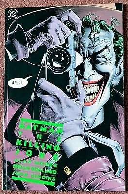 Batman; The Killing Joke; first printing; 1988; excellent condition