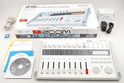 MINT! Zoom R16 Multitrack Recorder/Interface/Controller - In Box  from TOKYO
