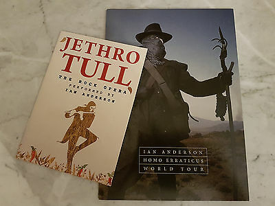 TWO Ian Anderson (Jethro Tull) tour programmes 2014 and 2016