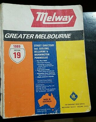 Melway 19 edition