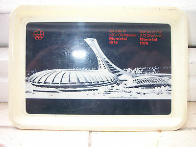 Vintage Plate-Games Of The Xxi Olympiad Montreal 1976