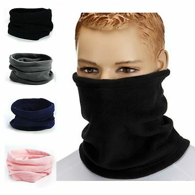 Thermal Hood Face Mask Ski Snood Scarf Neck Warmer Beanie Hat