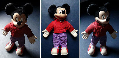 Disney / Applause - Mickey Mouse Valentine - Peluche / Plush - Collector 1990