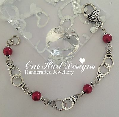 Fifty 50 Shades of Grey Inspired Charm Bracelet