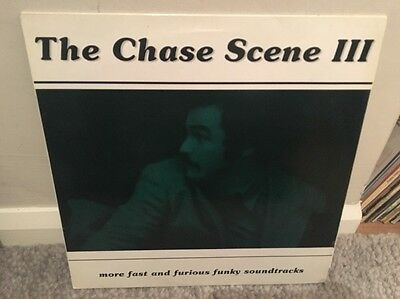 The Chase Scene 3 Lp Rare Pussycat Records