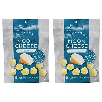NEW Moon Cheese 6RE8zd2 Crunchy Gouda 2PK Gluten-Free 100% Natural Protein Snack