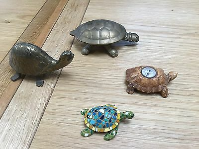 Collection of four tortoises / turtles ?