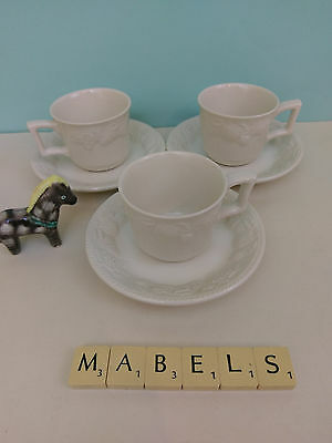 Bhs ~LINCOLN~ espresso cups and saucers x 3