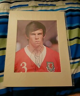 Gareth Bale Genuine Hand Signed Autograph