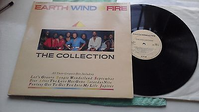 Earth Wind & Fire  – The Collection 1986 NE 1322 vinyl  LP x 2 Cleaned  VG+ EX