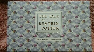 2016 - Tale Of Beatrix Potter Prestige Stamp Book Limited Edition No 0886 New