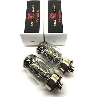 Matched Quad KT88  New Valve Tubes Gold Class Made By Shuguang China