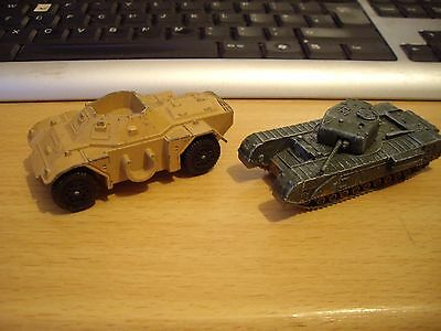 second hand corgi and dinky Army Vehicles WWII