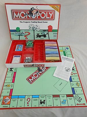 Monopoly  Board Game -  100% Complete - Very Good Condition