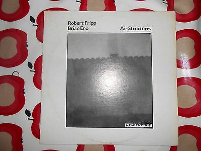 Brian Eno - Air Structures double LP Paris 28 May 1975