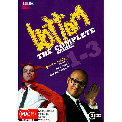 Bottom - The Complete Series [1 - 3] DVD - Brand New & Sealed