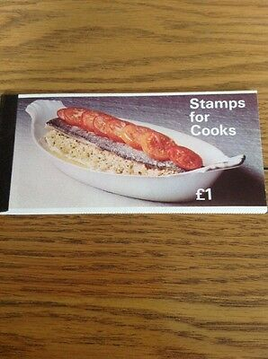 ZP1a  PRESTIGE BOOKLET STAMPS FOR COOKS COOK BOOK