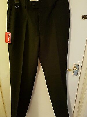 Mens black trousers 34L new with tags