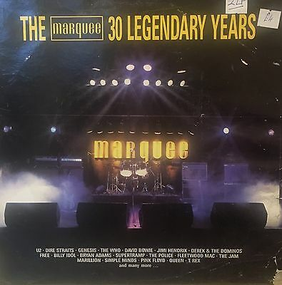 THE MARQUEE 30 Legendary Years Polydor Dbl Live LP MOTV1 FLOYD GENESIS TULL Etc