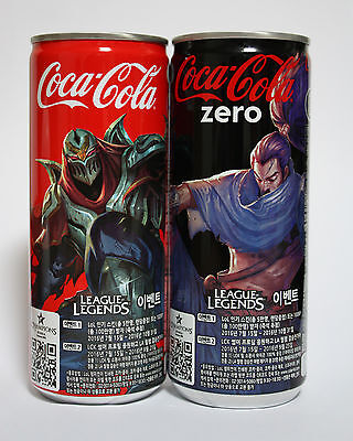 COCA COLA League of legends Limited Edition can