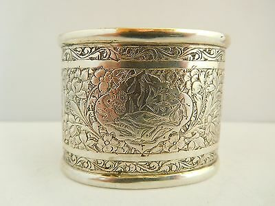 Stunning Early Antique Napkin Ring - Large