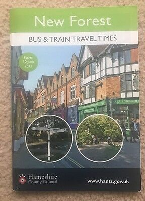 New Forest Bus Timetable Guide June 2013