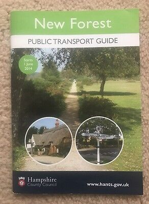 New Forest Bus Timetable Guide June 2014