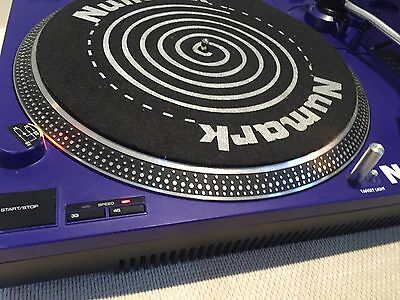 Numark TT1700 Belt drive Turntable (pair) With Mixer (Fully Working)