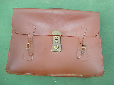 Vintage Leather Briefcase, Never Used, Fantastic Condition, Vintage Luggage