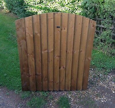 Top Quality Arch Top Wooden 4ft Garden Fence Panel