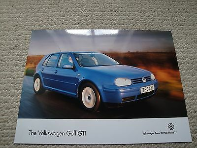Volkswagen VW Press Photograph for the Golf GTI MK4