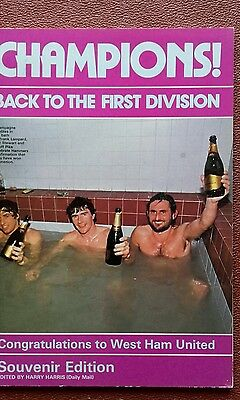 West Ham United Champions 1981 Annual.