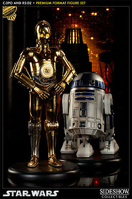 Star Wars C-3PO and R2-D2 Premium Format Exclusive Sideshow