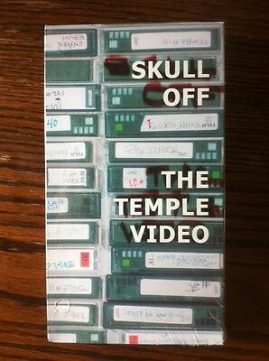 NEW ~ Skull Off The Temple Skateboard Video VHS NOS (sealed) 2002