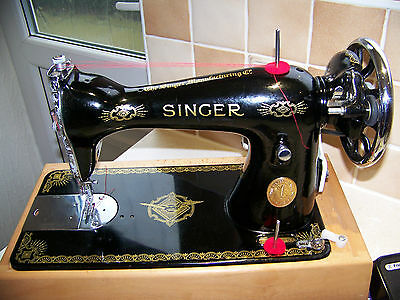 Magnificent Singer 15K80 Semi Industrial Heavy Duty Sewing Machine,case,serviced