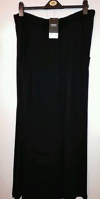 Bnwt Ladies Long Black Skirt From Next- Size 16