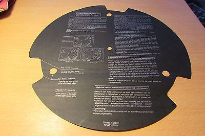 Light Block Sheet For Playing Transparent Records