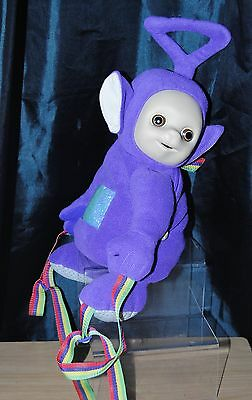 Teletubbies 18 Inch Tinky Winky Plush Backpack Soft Toy By Golden Bear