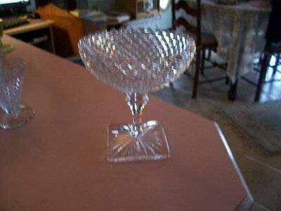 """English Hobnail 5 1/4"""" bell shape compote"""