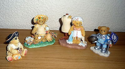 Collection of Cherished Teddies - Sarah / Lydia / Neil / Taylor