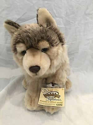 Webkinz Signature Timber Wolf WITH CODE New Condition