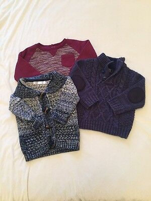 Bundle Of Jumpers 9-12 Months