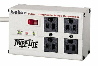 Tripp Lite ISOBAR4ULTRA Isobar Ultra 4-Outlet Surge Protector (3330 Joules,