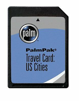 PalmOne PalmPak Travel Card: US Cities (m125, m130, i705 & m