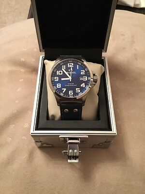 TW STEEL Gents Watch, TW401, Blue Face, With Box